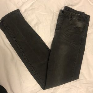 Jeans - !It Collection- Nordstrom gray/faded black Skinny